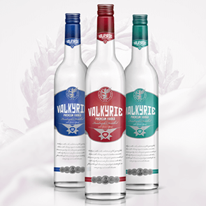 Valkyrie Vodka Bottles